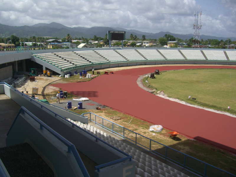 Coating of the Track